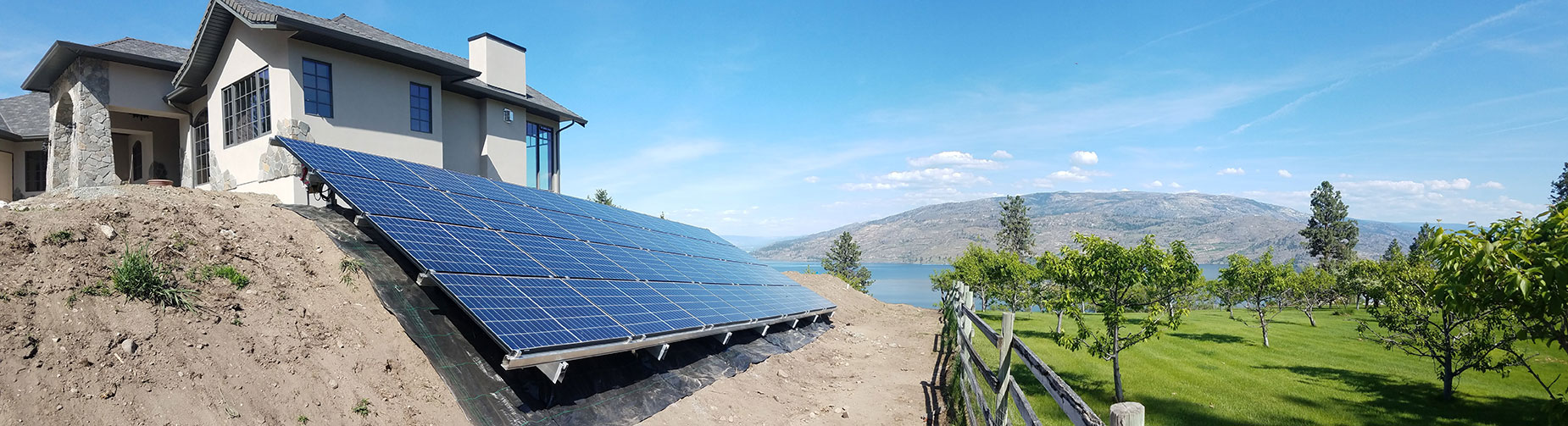 Okanagan Solar specializes in both solar and wind power and serves all locations in BC and even the Canadian north!